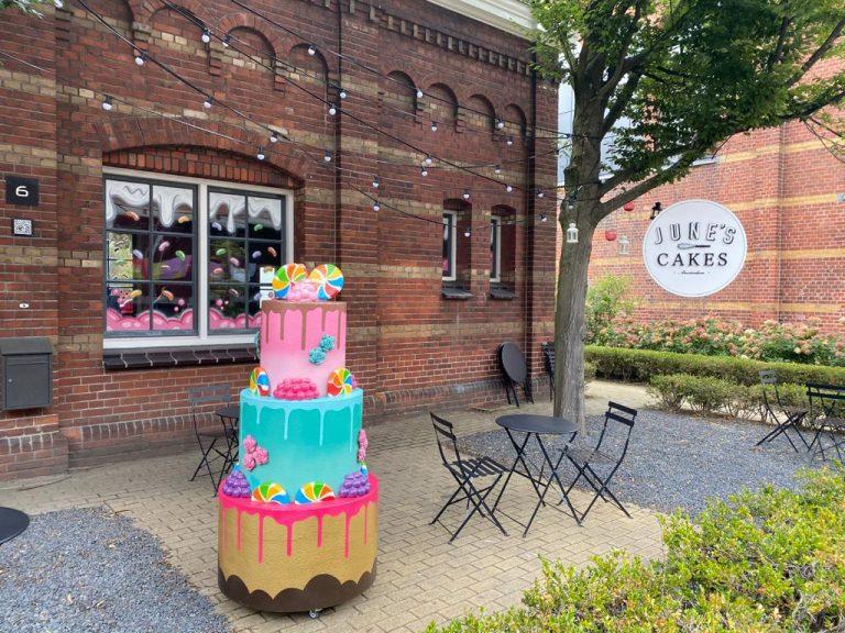 Studio Edo Rath Mural - June's Cake Shop - Westergasfabriek Amsterdam