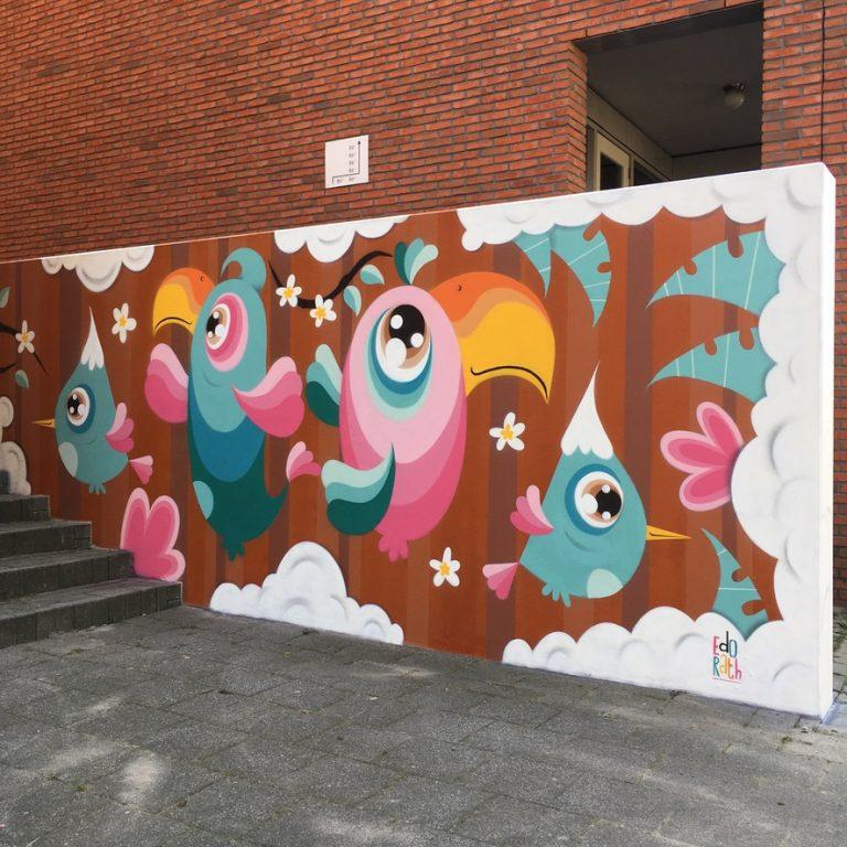 Studio Edo Rath Mural - Oosterstraat Vlaardingen