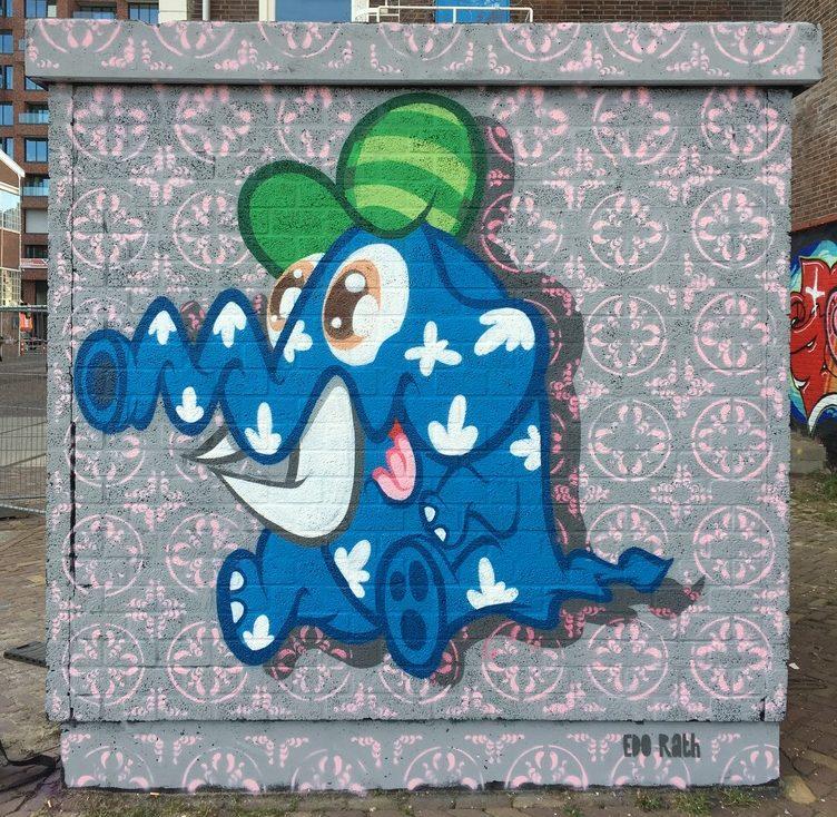Studio Edo Rath Mural - NDSM Amsterdam