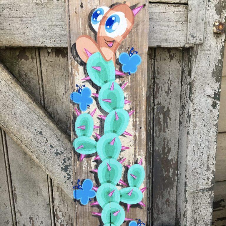 Studio Edo Rath Painting - Cactus - Sutton Forest Australia