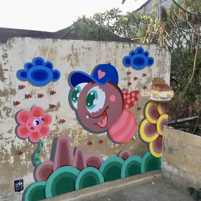 Studio Edo Rath Mural - Sanur Bali